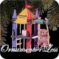 1994 Crayola #6 - Bright Playful Colors - #QX5273 - SDB
