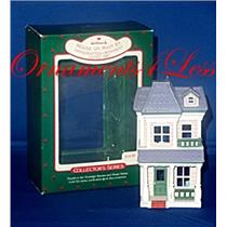 1987 Nostalgic Houses and Shops #4 - House on Main Street - Signed By Artist - #QX4839 - SDB