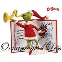 Hallmark Ornament 2009 Christmas Means Something More - Dr. Seuss - #QXI1175