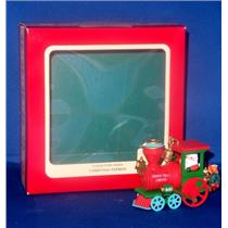 1991 Christmas Express #1 - Red Locomotive - #114826-5