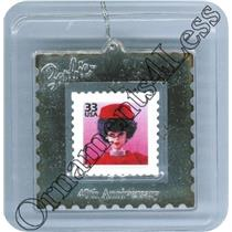 1999 Silken Flame Barbie Celebrate the Century Stamp - #QXI8559