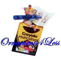 1995 Colorful World - Crayola Crayons - #QX5519 - DB