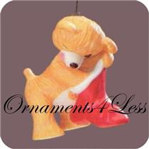 1987 Porcelain Bear #5 - Cinnamon Bear - #QX4427 - NO TAG