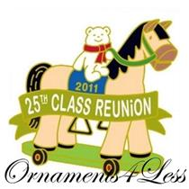 2011 A Pony for Christmas 25th Reunion Event Lapel Pin - #QX11EP