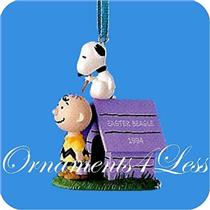 1994 Peanuts - Snoopy and Charlie Brown - #QEO8176 - SDB
