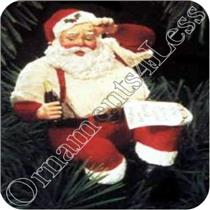 1992 Please Pause Here - Coca-Cola Santa Claus - #QX5291-SDB