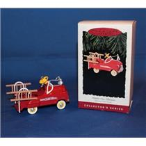 1995 Kiddie Car Classics #2 - Murray Fire Truck - #QX5027 - DB