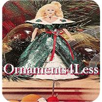 1996 Holiday Barbie Christmas Stocking Hanger - #XSH3101 - SDB