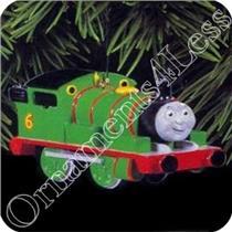 1996 Percy the Small Engine No. 6 - Thomas the Tank Engine - #QX6314 - SDB