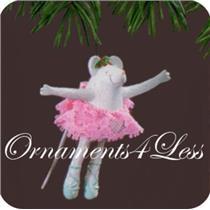 1990 Born to Dance - Ballerina Mouse - #QX5043-SDB