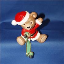 1988 Jingle Bear Stocking Hanger - #QSH8114 - NO BOX