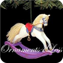 1987 Rocking Horse #7 - #QX4829- SDB WITH NO TAG