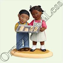 2005 Baking Cookies - Little Helpers - African American - #QXG4445
