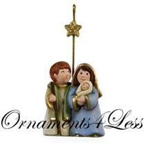 Hallmark Miniature Ornament 2009 Holy Family - #QXM9035
