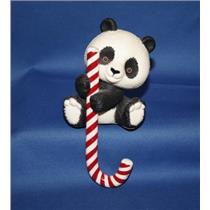 1982 Panda Bear Stocking Hanger - #QHD8105 - SDB