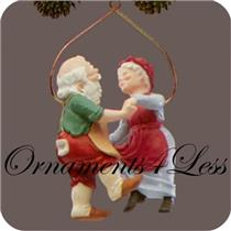 1988 Mr and Mrs Claus #3 - Shall We Dance - #QX4011