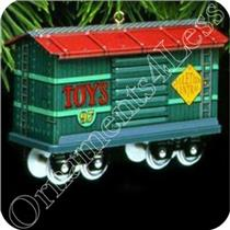 1997 Yuletide Central #4 - The Toy Car - #QX5812