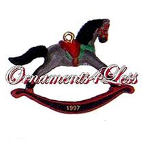 1997 Hallmark Keepsake - Rocking Horse #10 - Miniature Ornament - #QXM4302-SDB