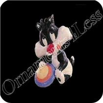 1996 - Baby Sylvester Looney Tunes Miniature Ornament - #QXM4154-SDB