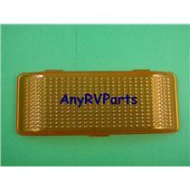 RV Trailer Porch Light Lens Amber Peterson 384-15A