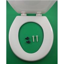 Dometic Sealand 385343831 Toilet Seat and Lid Bone 343831