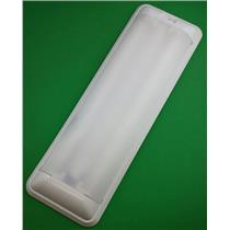 RV 12 Volt Fluorescent Light Double Bulb Thin Lite 656