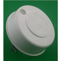 Camco RV Pipe Vent Cap White with Spring 40034
