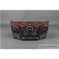 2007 Kia Rondo Climate Control Unit / Panel with Rear Defrost and AC