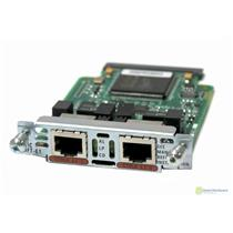 Cisco VWIC-2MFT-E1 2-Port RJ-48 Multiflex Trunk-E1 Voice Interface Module Card
