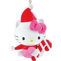 Carlton Heirloom Ornament 2015 Hello Kitty with Candy Cane - #CXOR130H-SDB