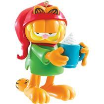 Carlton Heirloom Ornament 2015 Garfield Having a Cup of Cocoa - #CXOR048H