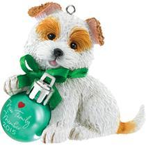 Carlton Heirloom Series Ornament 2015 Puppy Love #15 - #CXOR027H