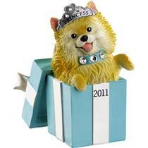 Carlton Heirloom Series Ornament 2011 Puppy Love #11 - Pomeranian - #CXOR033Z