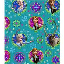 Disney Frozen Olaf Elsa and Anna Gift Wrapping Paper Roll 60 Sq Ft - #XLR208
