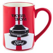 Hallmark 2015 BOSS 302 Ford Mustang Ceramic Collectible Coffee Mug - #KCK1006