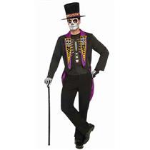 Forum Novelties Mens Day of the Dead Formal Adult Costume Size Standard