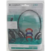 Logitech h230 Stereo Headset 981-000018