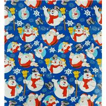 Frosty the Snowman and Friends Gift Wrapping Paper Roll - 40 Sq Ft - #W15-17656