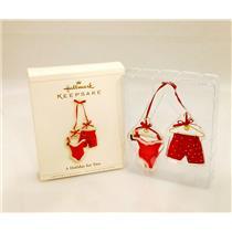 Hallmark Keepsake Ornament 2006 A Holiday For Two - #QXG3016