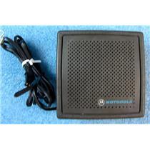 #2 MOTOROLA HSN4009A SPEAKER FOR 2-WAY RADIO CAR/DESK/ETC INSTALL - USED w/GUAR