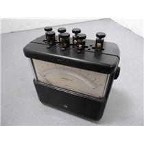 Weston Model 904 Amperes A.C. Meter 904-2905002 25-1000 Hz