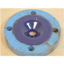"""**MFG Unknown**  3"""" x 1"""" Glass-Lined Reducing Pipe Flange"""
