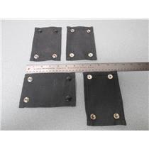 4 Pk of Interspiro 96029 SM 4 Snap Harness Strap for SCBA Tank & Harness Set Up