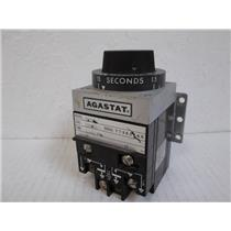Agastat  7012AB  Time Delay Relay; 1.5-15 seconds; 1/4 HP; 120/240 VAC