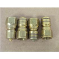 "(4) Snap-Tite  B72N6  Series 72 Brass 3/8"" Male Quick Connect Coupler Nipples"