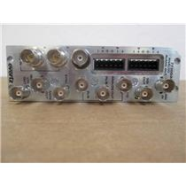 Evertz 7730DAC-A4 Rear Module for SDI to Component Analog Video Converter Card