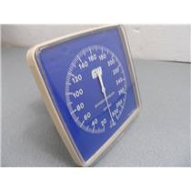 Sphygmomanometer Gauge Only Blue Face