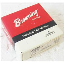 "BROWNING VF2S-216 1"" PILLOW BLOCK MOUNTED BALL BEARING, ONE INCH, SET SCREW - N"