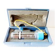 #2 FISHER SCIENTIFIC 14-386-106E HOLLOW CATHODE TUBE BULB, PD ELEMENT, NE GAS,