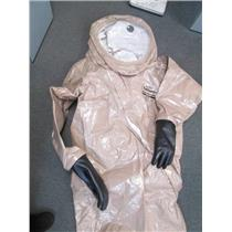DuPont RC550T-TN Size Lrg Tychem Responder CSM Level A Chemical Protection Suit